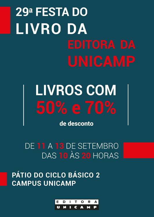 festa do livro da Editora da Unicamp
