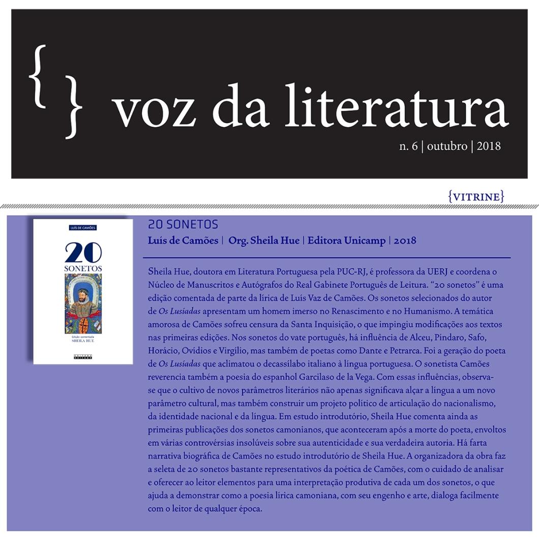 Voz da Literatura - Vozes