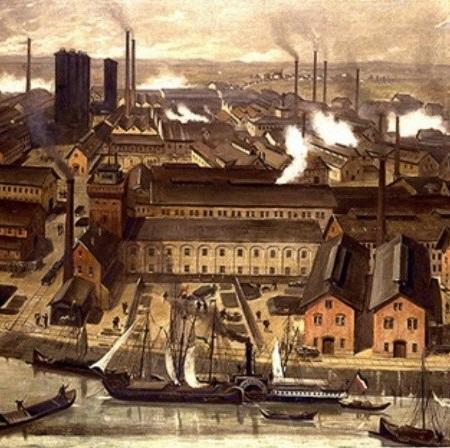Revolução Industrial – Industrialização da Europa continental e expansão pelo mundo.
