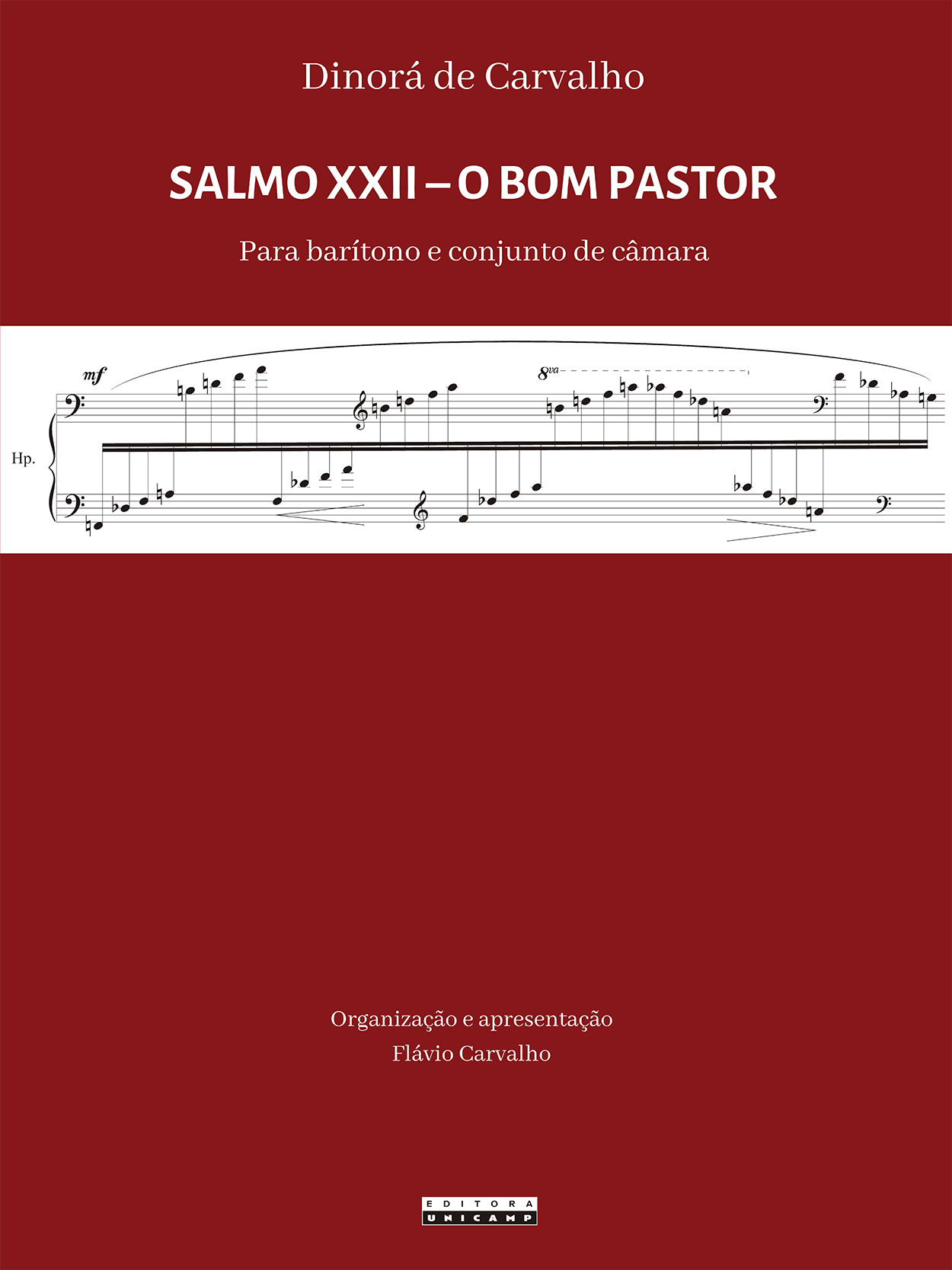 Capa_DINORÁ de Carvalho - Salmo XXII - 21 x 28 cm.indd